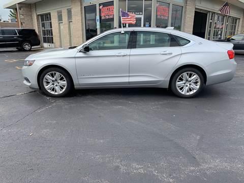 2015 Chevrolet Impala for sale at Rick Herter Motors in Loves Park IL