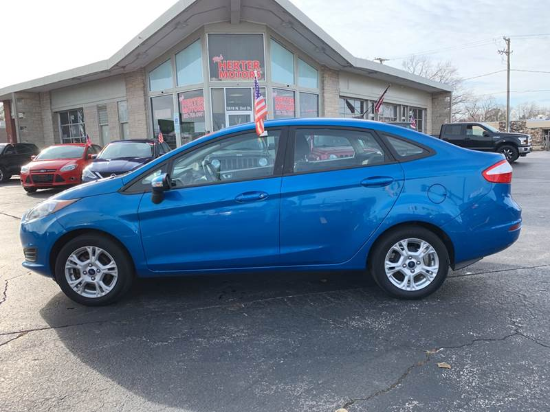 2016 Ford Fiesta for sale at Rick Herter Motors in Loves Park IL