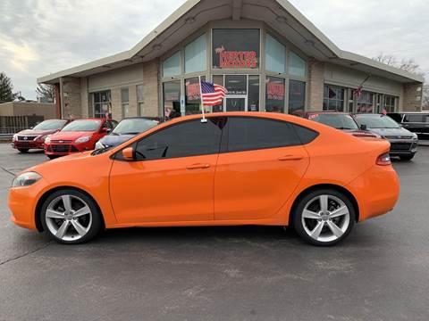 2013 Dodge Dart for sale at Rick Herter Motors in Loves Park IL