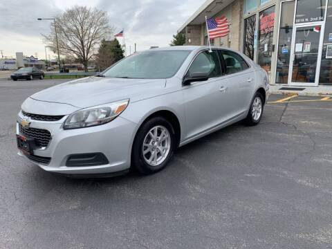 2014 Chevrolet Malibu for sale at Rick Herter Motors in Loves Park IL