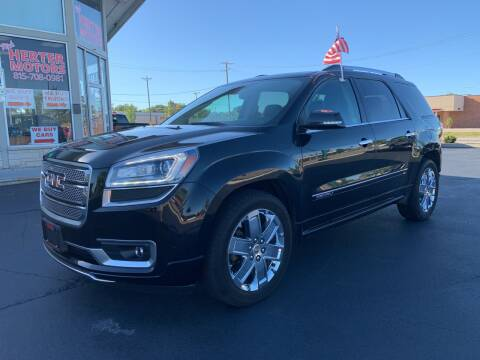 2014 GMC Acadia for sale at Rick Herter Motors in Loves Park IL