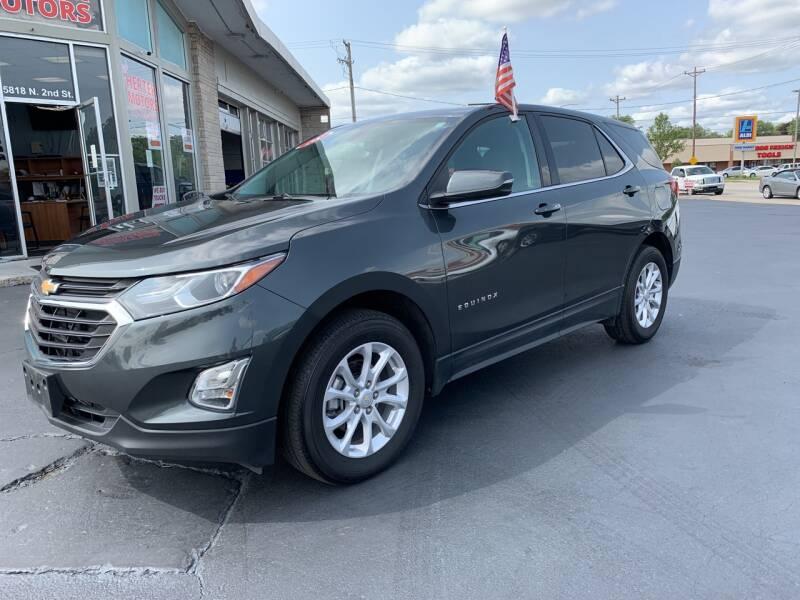 2018 Chevrolet Equinox for sale at Rick Herter Motors in Loves Park IL