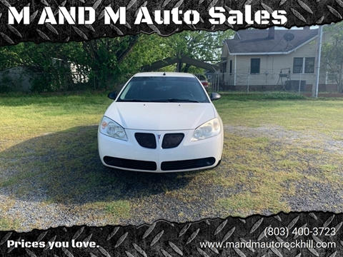 2008 Pontiac G6 for sale in Rock Hill, SC