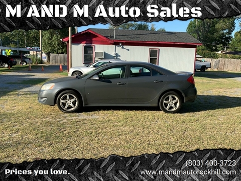 2009 Pontiac G6 for sale in Rock Hill, SC