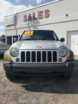 2007 Jeep Liberty for sale at Town & City Motors Inc. in Gary IN