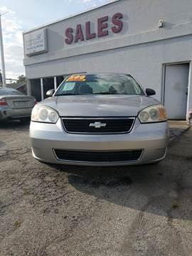2007 Chevrolet Malibu for sale at Town & City Motors Inc. in Gary IN