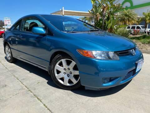 2008 Honda Civic LX for sale at Luxury Auto Lounge in Costa Mesa CA