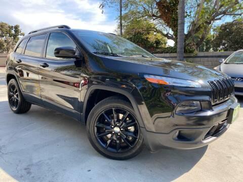 2014 Jeep Cherokee Latitude for sale at Luxury Auto Lounge in Costa Mesa CA