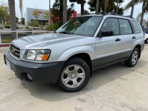 2004 Subaru Forester X for sale at Luxury Auto Lounge in Costa Mesa CA