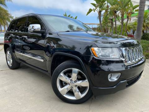 2012 Jeep Grand Cherokee Overland for sale at Luxury Auto Lounge in Costa Mesa CA