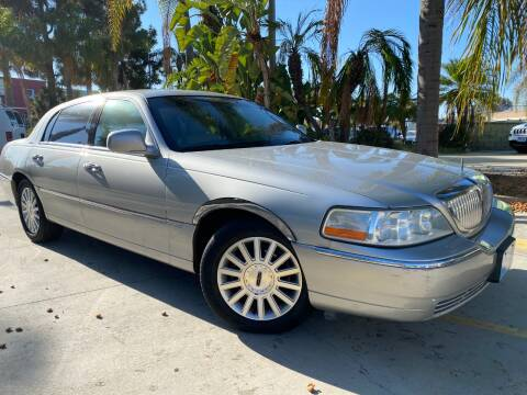 2003 Lincoln Town Car for sale at Luxury Auto Lounge in Costa Mesa CA