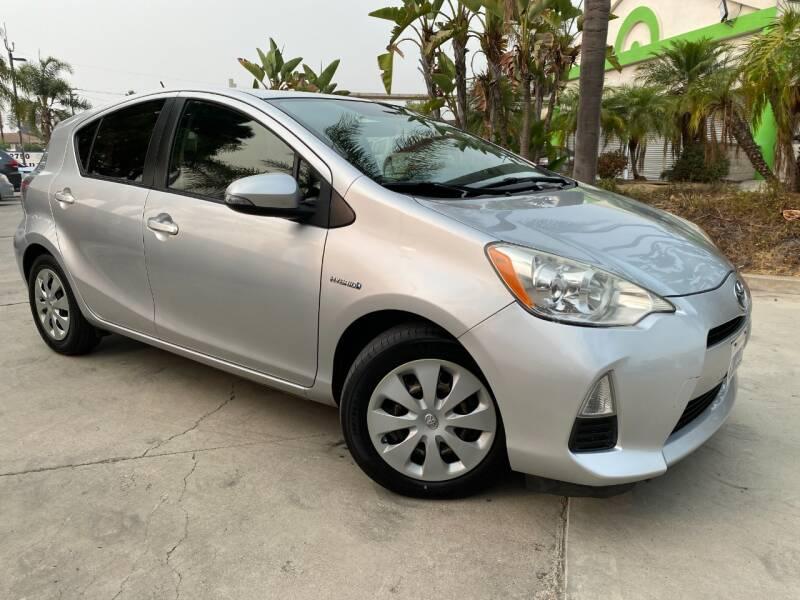 2012 Toyota Prius c for sale at Luxury Auto Lounge in Costa Mesa CA