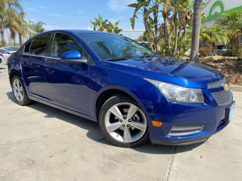 2012 Chevrolet Cruze for sale at Luxury Auto Lounge in Costa Mesa CA