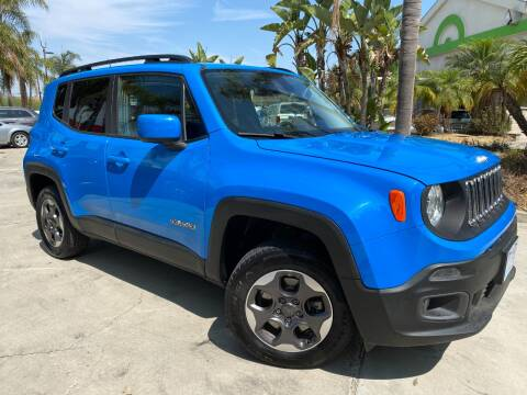 2015 Jeep Renegade for sale at Luxury Auto Lounge in Costa Mesa CA