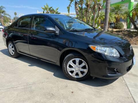 2010 Toyota Corolla for sale at Luxury Auto Lounge in Costa Mesa CA