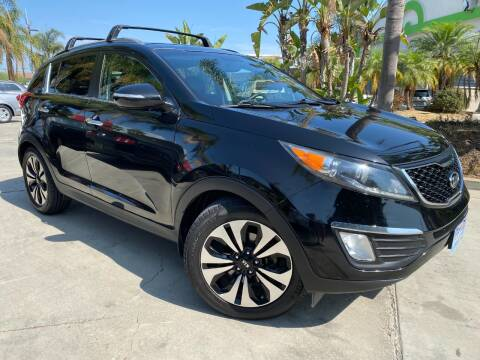 2011 Kia Sportage for sale at Luxury Auto Lounge in Costa Mesa CA