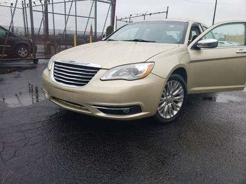 2011 Chrysler 200 for sale at Cj king of car loans/JJ's Best Auto Sales in Troy MI