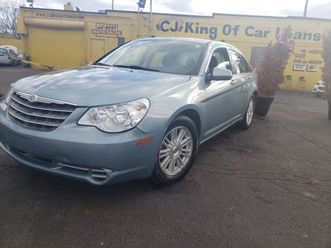 2009 Chrysler Sebring for sale at Cj king of car loans/JJ's Best Auto Sales in Troy MI