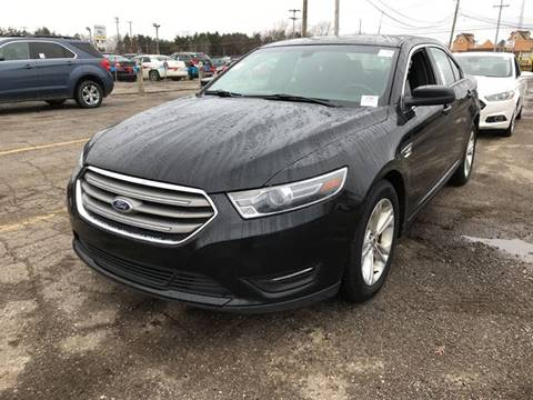 2015 Ford Taurus for sale at Cj king of car loans/JJ's Best Auto Sales in Troy MI