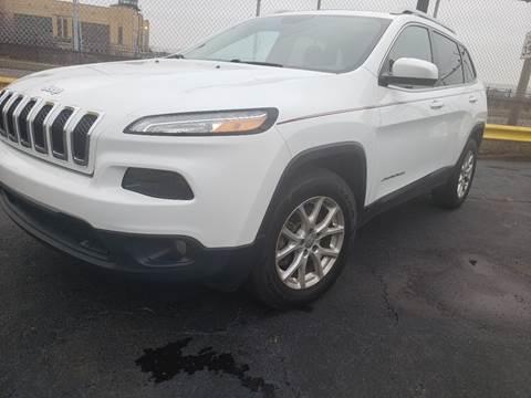 2016 Jeep Cherokee for sale at Cj king of car loans/JJ's Best Auto Sales in Troy MI
