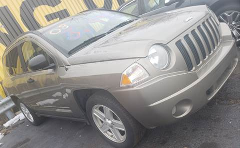 2008 Jeep Compass for sale at Cj king of car loans/JJ's Best Auto Sales in Troy MI
