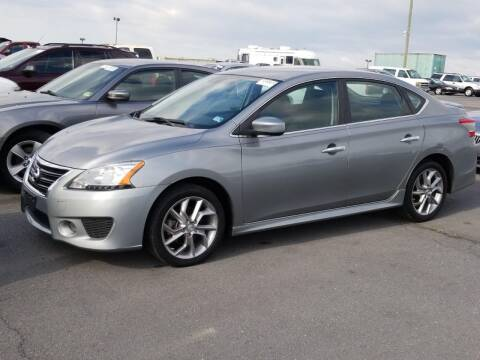 2013 Nissan Sentra for sale at Cj king of car loans/JJ's Best Auto Sales in Troy MI