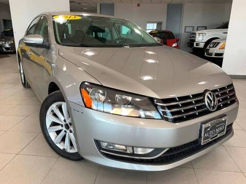 2013 Volkswagen Passat for sale at Cj king of car loans/JJ's Best Auto Sales in Troy MI