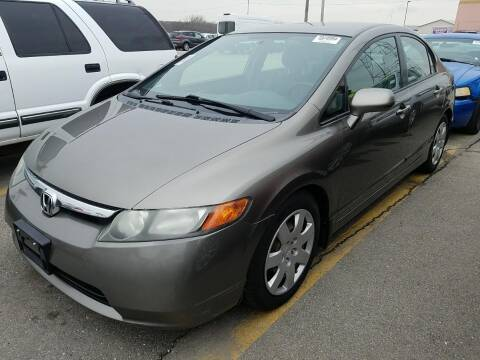 2008 Honda Civic for sale at Cj king of car loans/JJ's Best Auto Sales in Troy MI
