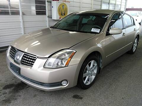 2005 Nissan Maxima for sale at Cj king of car loans/JJ's Best Auto Sales in Troy MI