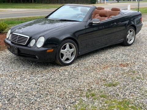 2001 Mercedes-Benz CLK for sale at Cj king of car loans/JJ's Best Auto Sales in Troy MI