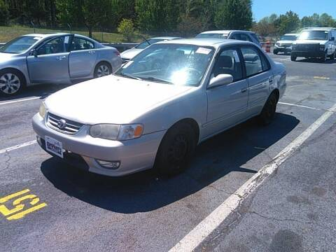2002 Toyota Corolla for sale at Cj king of car loans/JJ's Best Auto Sales in Troy MI