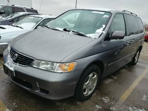 2000 Honda Odyssey for sale at Cj king of car loans/JJ's Best Auto Sales in Troy MI