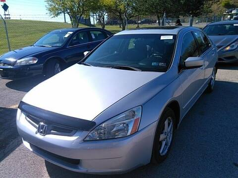 2005 Honda Accord for sale at Cj king of car loans/JJ's Best Auto Sales in Troy MI