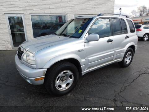 2002 Suzuki Grand Vitara for sale at Cj king of car loans/JJ's Best Auto Sales in Troy MI