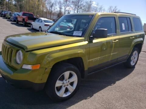 2012 Jeep Patriot for sale at Cj king of car loans/JJ's Best Auto Sales in Troy MI