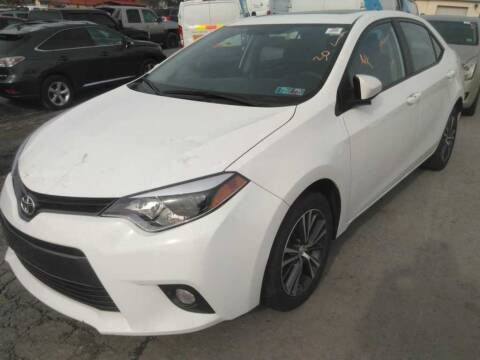 2016 Toyota Corolla for sale at Cj king of car loans/JJ's Best Auto Sales in Troy MI