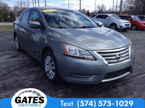 2014 Nissan Sentra for sale at Cj king of car loans/JJ's Best Auto Sales in Troy MI