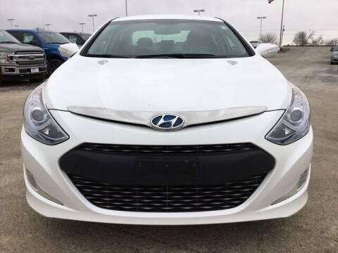 2013 Hyundai Sonata Hybrid for sale at Cj king of car loans/JJ's Best Auto Sales in Troy MI