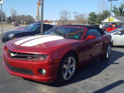 2012 Chevrolet Camaro for sale at Cj king of car loans/JJ's Best Auto Sales in Troy MI
