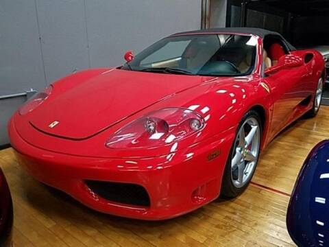 2002 Ferrari 360 Spider for sale at Cj king of car loans/JJ's Best Auto Sales in Troy MI