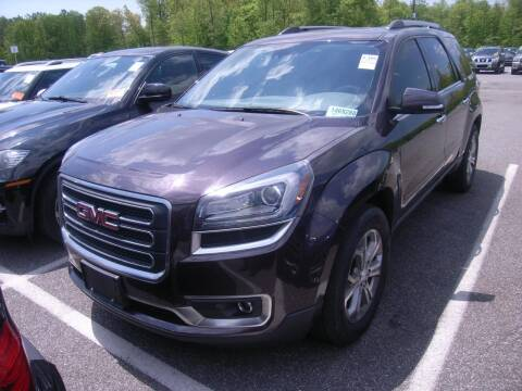 2015 GMC Acadia for sale at Cj king of car loans/JJ's Best Auto Sales in Troy MI