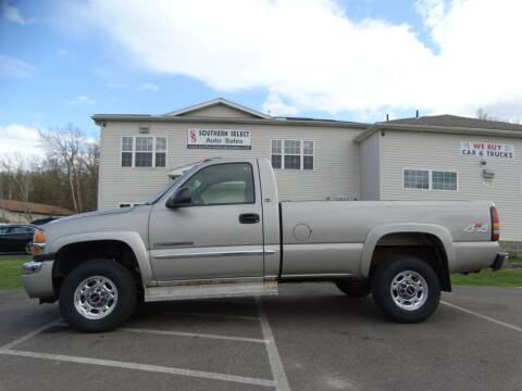 2004 GMC Sierra 2500HD for sale at Cj king of car loans/JJ's Best Auto Sales in Troy MI