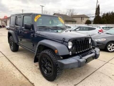 2018 Jeep Wrangler JK Unlimited for sale at Cj king of car loans/JJ's Best Auto Sales in Troy MI