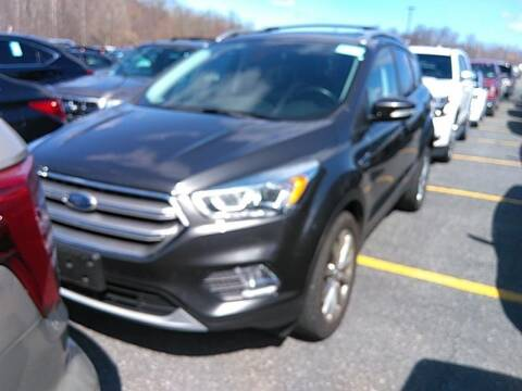 2017 Ford Escape for sale at Cj king of car loans/JJ's Best Auto Sales in Troy MI