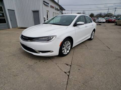 2016 Chrysler 200 for sale at Cj king of car loans/JJ's Best Auto Sales in Troy MI