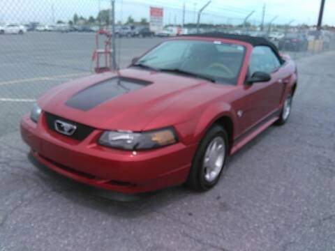 1999 Ford Mustang for sale at Cj king of car loans/JJ's Best Auto Sales in Troy MI