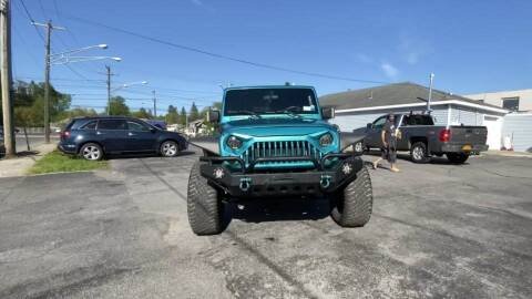 2009 Jeep Wrangler Unlimited for sale at Cj king of car loans/JJ's Best Auto Sales in Troy MI