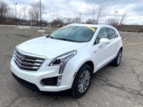 2017 Cadillac XT5 for sale at Cj king of car loans/JJ's Best Auto Sales in Troy MI