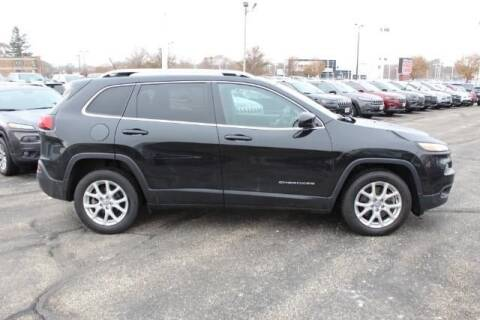2015 Jeep Cherokee for sale at Cj king of car loans/JJ's Best Auto Sales in Troy MI