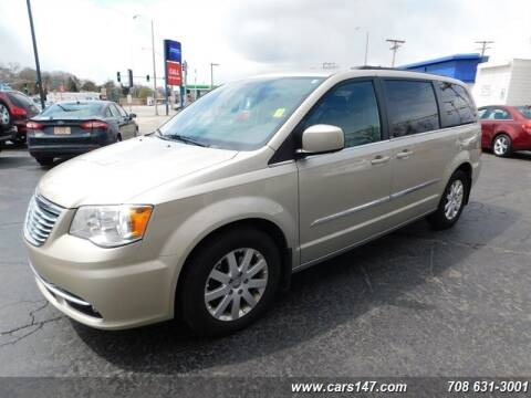 2014 Chrysler Town and Country for sale at Cj king of car loans/JJ's Best Auto Sales in Troy MI